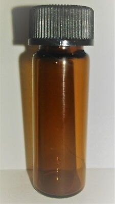 Ferric Chloride 42 Degree Baume Solution 1000x 1 Dram Amber Glass Vial 4 Ml