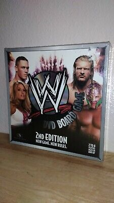 WWE DVD Board Game 2nd Edition SBG Games WWF Wrestling Raw Smackdown for sale  Shipping to India