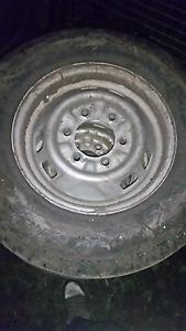 6 stud wheels good tyres x4 Hobart CBD Hobart City Preview