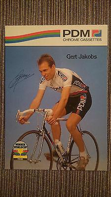 AK m.Druck.AG Gert Jakobs Team PDM 1990 Rarität
