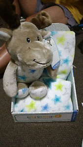 Baby plush toy and fleece blanket Bull Creek Melville Area Preview