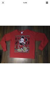Mickey Mouse holiday sweater size XL