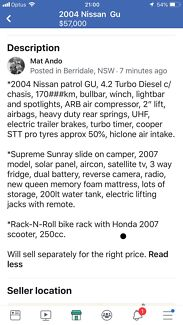 2004 Nissan Patrol Ute Berridale Snowy River Area Preview