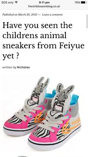 Children's Feiyue sneakers