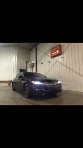 2015 Acura TLX FWD, 2 sets wheels&tires