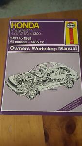Honda civic workshop Manual Newnham Launceston Area Preview
