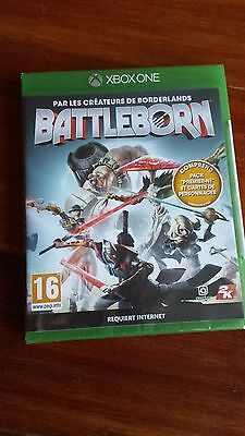 Jeu video XBOX ONE BATTLEBORN Neuf
