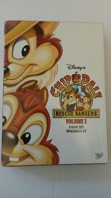Chip n Dale Rescue Rangers - Volume 1 (DVD, 2005, 3-Disc Set)