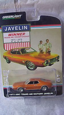 Greenlight 1 64 1973 Amc Trans Am Victory Javelin New    Clearance Price