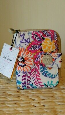 NWT Kipling New Money Wallet, Summer Dream