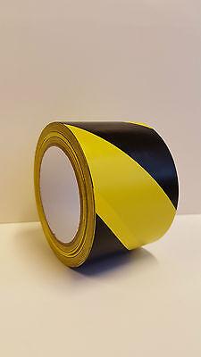 Warnband-Fußbodenmarkierungen/gelb/schwarz Weich PVC Klebeband 75mmx33m