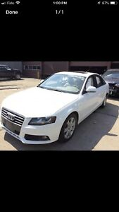 2012 Audi A4 Parting Out, only 112000km