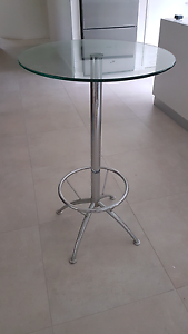 Tall Glass Bar Table Lilli Pilli Sutherland Area Preview