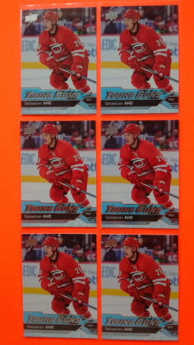Lot Of 6 Ud 2016-17 Young Guns Yg Rookie Rc Upick