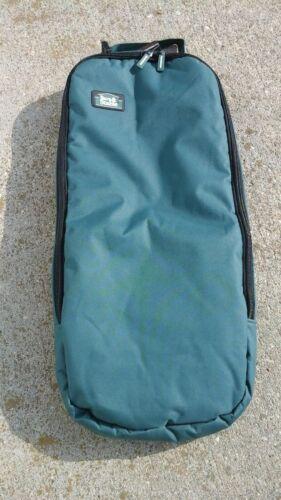 Green padded nylon bridle/halter carrier bag Barn & Stable