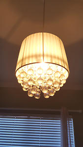 Geneve pendant / chandelier light (white) Dianella Stirling Area Preview