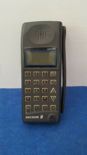 RARE VINTAGE  MOBILE PHONE CELL ERICSSON HG 198