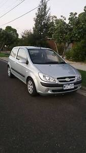 2008 Hyundai Getz Hatchback LOW K'S Geelong Geelong City Preview