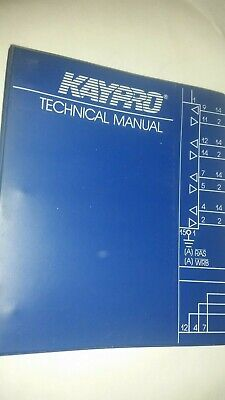 Kaypro Technical Manual Troubleshooting Vtg Computer, used for sale  Shipping to South Africa