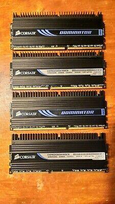 Corsair Dominator CMP6GX3M3A1600C8 8GB, PC3-12800 DDR3 SDRAM, 1600 Mhz segunda mano  Embacar hacia Argentina