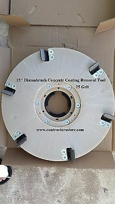 Diamabrush 15 Concrete Coating Removal Tool 25 Grit