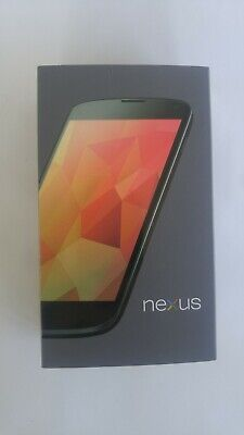 Nexus 4 E960 - 16GB - Black (Unlocked) Smartphone with Original Box