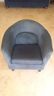 Blue Tub Chair Northbridge Willoughby Area Preview
