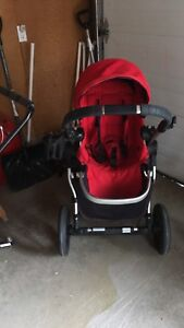 City select stroller with rain guard and cup holder