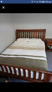Timber Queen bedroom set Hamilton Newcastle Area Preview
