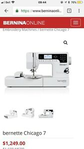 2-in-1 sewing and embroidery Machine à coudre et à broder