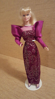 Barbie Doll in body tight gala dress. Deboxed for sale  Shipping to India