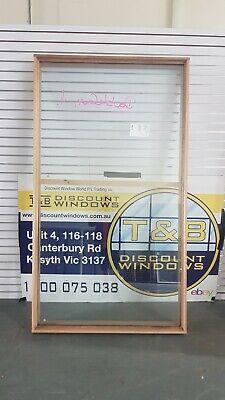 Timber Fixed Window 2163H x 1212W  (Item 5002) DOUBLE GLAZED