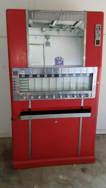 1950S NATIONAL CANDY VENDING MACHINE-SOLD!!!!