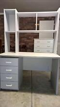 Large 3 drawer grey study desk Lalor Whittlesea Area Preview