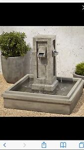 Patina fountaine