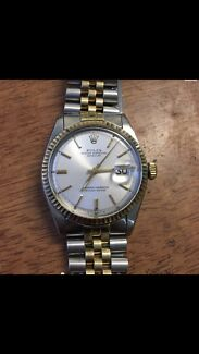 Oyster perpetual authentic genuine real filled gold Rolex