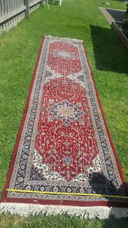 Long Handmade Rug 1m×4m - Perfect for hallways
