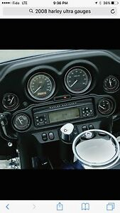 2008 Harley Ultra Classic touring full set of 6 gauges