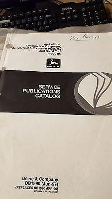 John Deere Service Publications Catalog