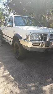 2006 Ford Courier XLT 4x4 Ute Driver Palmerston Area Preview