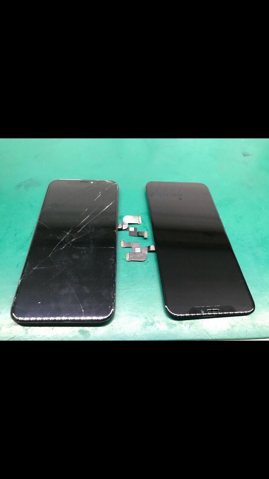 IPhone X Cracked Glass Screen Repair Refurbish Service OEM - $69.99
