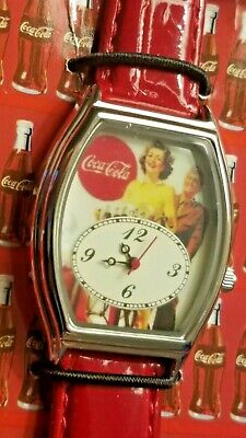 Vintage Coca-Cola Watches / LOT of [2] with Tins