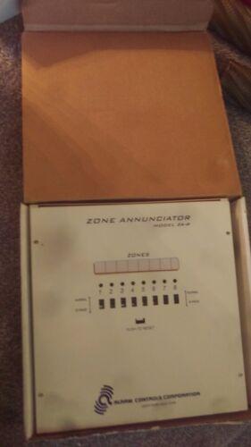 NEW 8 Zone Annunciator Security Alarm Transmitter Box Control Panel  # ZA-8
