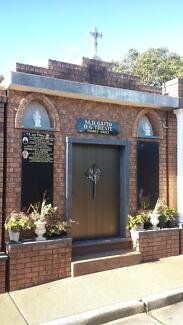 Burial Family Vault x 6 vacant spaces for sale Frenchs Forest Warringah Area Preview