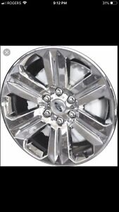 Wanted Ford F-150 XTR Rims