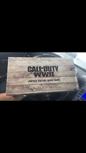 Call of Duty Limited Edition Crate - Collectible