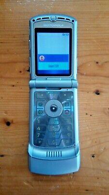 Motorola RAZR V3 Silver Vodafone/Lebara Mobile Phone