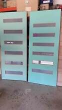 6 lite frosted glass entrance doors $140 each Kellyville Ridge Blacktown Area Preview