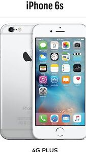 I iphone 6s 64 gig silver brand new in sealed box Bellbird Park Ipswich City Preview