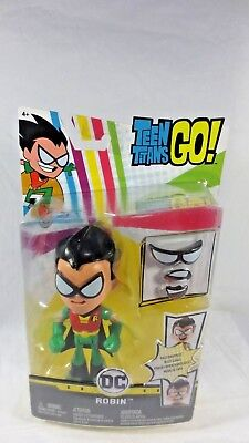"""DC Teen Titans Go Face-swappers Robin 6""""action Figure"""